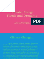 Droughts Floods Climate Change