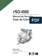 Manual FSO4505_Espanol Caja de Cambios