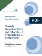 Shariah Sales vs. Riba Loan
