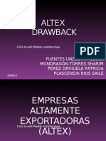 Altex Draw Back