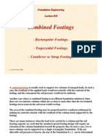 Combined Footings