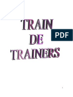 Material de Apoyo Train de Trainers