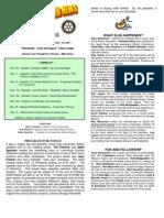 Moraga Rotary Newsletter Oct 11 2011