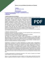 origen  de la auditoría y la ley de delitos informáticos en panamá