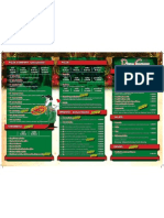 Pizza Company Menu