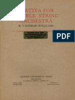 RVW - Partita for Double String Orchestra