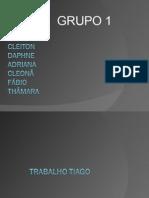 TRABALHO TIAGO