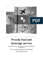 Provide f&B Service