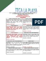 Equipos Exentos Pc Azteca La Playa