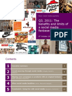 Wave Social Media Quarterly Q3 2011 (Wavemetrix) -OCT11