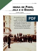 a comuna de paris, a escola e o ensino