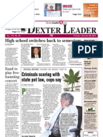 Dexter Leader Front page Oct. 20, 2011