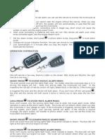 Pixmania Beeper x6r alarm manual
