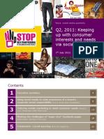 Wave Social Media Quarterly Q2 2011