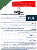 2011, CLP-UNLP, Seminario Sindicalismo Afiche