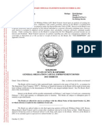 State of NH General Obligation Capital Improvement Bonds 2011
