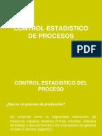 Control Estadistico de Procesos Teoria