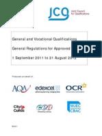 general regulations 2011-2012
