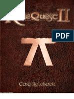RuneQuest II Core Rulebook