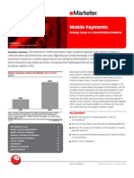 Mobile Payments-Moving Closer to a World Without Wallets - eMarkter September 2011
