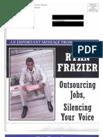AFL CIO Smear Piece on Ryan Frazier