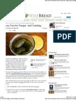 254 Uses for Vinegar