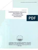 Comprehensive Industry Document on Electroplating Industries