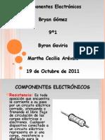 Trabajo de Componentes Electronicos