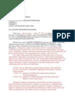 DTRA FOIA Interim Final Letter (for Multiple Document Releases) - Denied in Part (DIP)