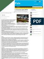 19-10-11 Los Diputados Federales quieren más dinero para el 2012