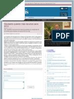 19-10-11 Buscan más recursos para el 2012 los Diputados Federales