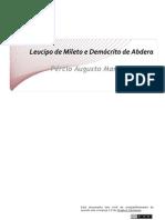 LT Leucipo e Democrito