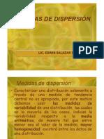 Medidas Dispersión 2011