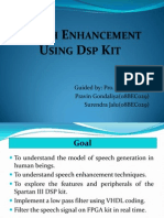 Filter Implementation Using Dsp Kit