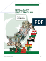 Best Practices Pakistan Pol Parties