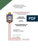 PRÁCTICA 4 - CIRCUITO COMBINACIONAL CON INTEGRADOS A NIVEL MSI