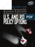 Korea's Domestic Base for Alliance with the United States by Lee Sook-Jong