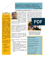 Office of Multicultural Affairs Newsletter Fall 2011-Issue 2