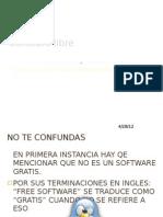 Software Libre. Informatica, Carlos I. Martinez Arenas 101
