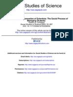 Campbell_Social Process of Managing PhD Students