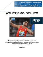 Reglamentos Atletismo IPC