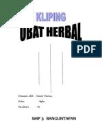 Kliping Obat Herbal
