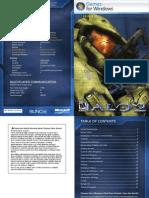 Halo Game Manual En