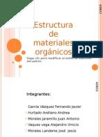 Estructura de Los Materiales Organicos
