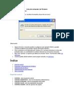 Lista de Comandos de Windows