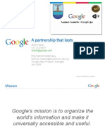 Google University Partnership