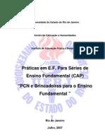 PCN e Brincadeiras Aplicados ao 1° e 2° Ciclos de Ensino