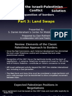 2008-01 Mapping the Conflict - Borders - Part 3 - focus on land swaps