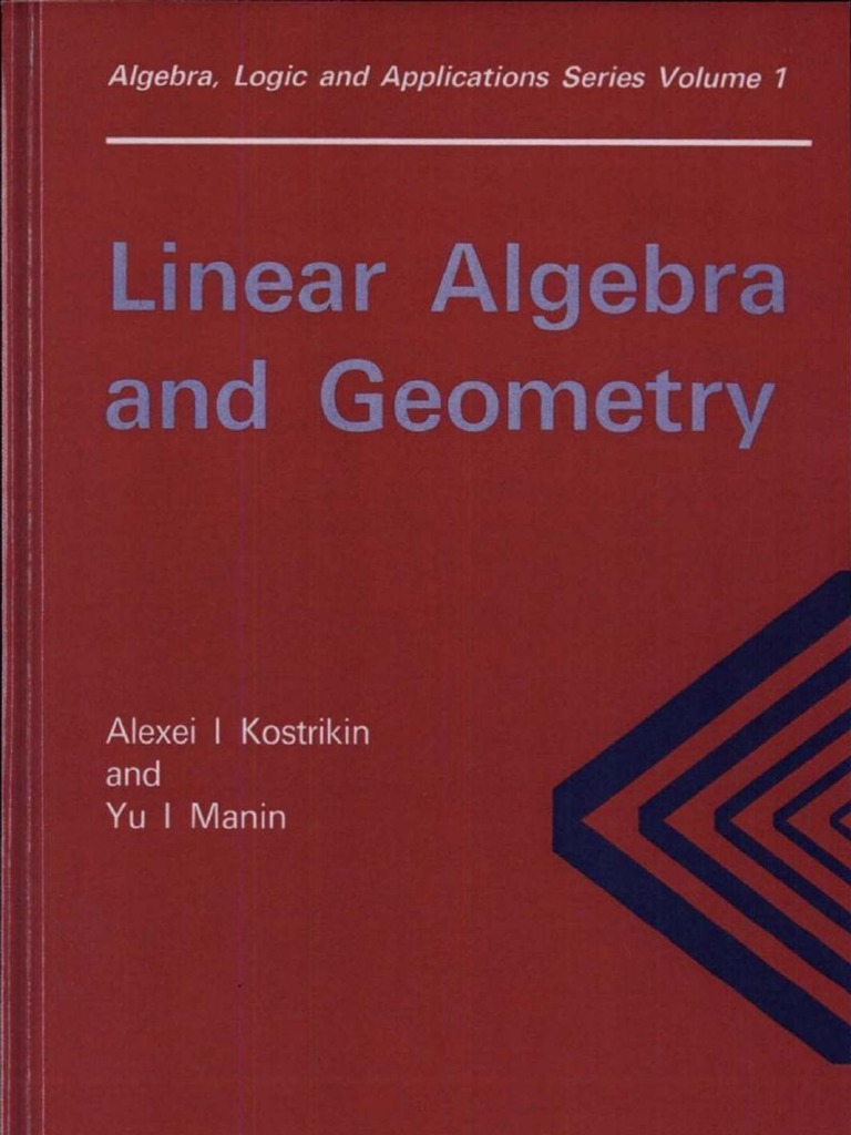 Linear algebra and geometry algebra logic and applications basis linear algebra vector space