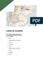 CAMINO DE SANABRÉS